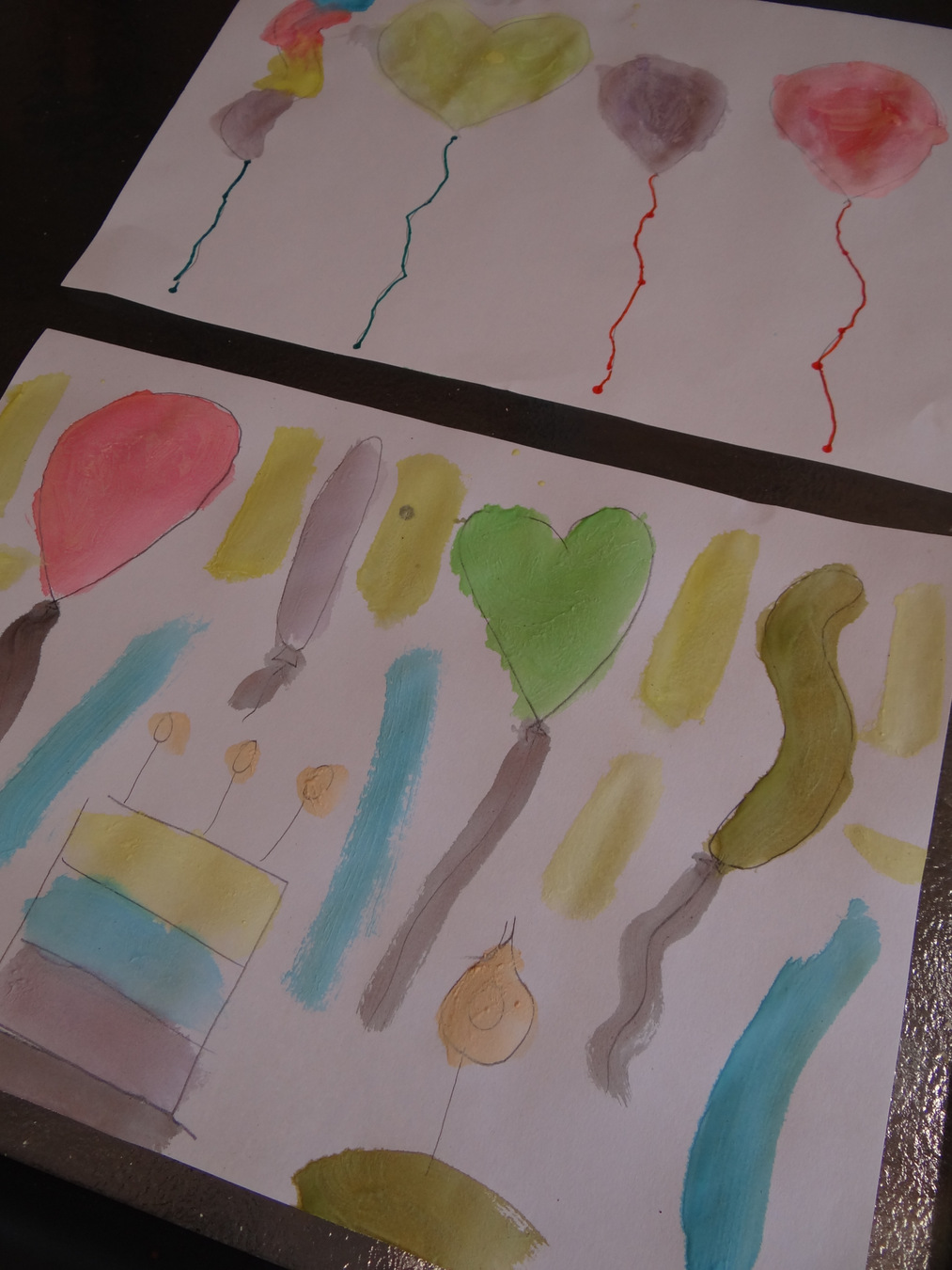 How to make your own watercolour painting