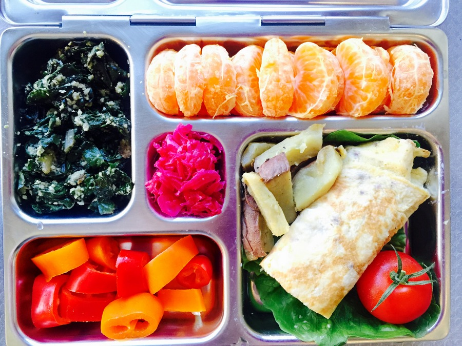 Paleo Inspired Lunch Box
