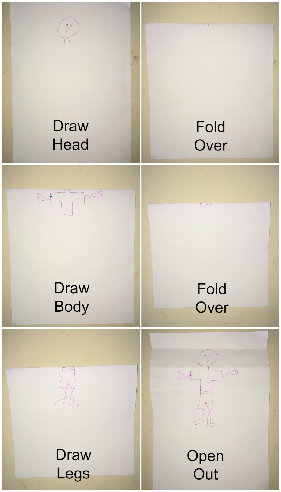 Funny Character Drawing Game
