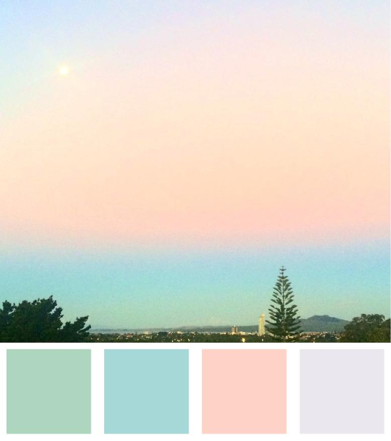 Magical Sky Colour Palette
