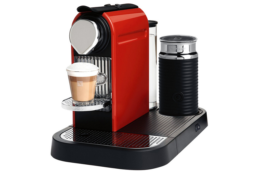 Citiz  & Milk Espresso Machine in red