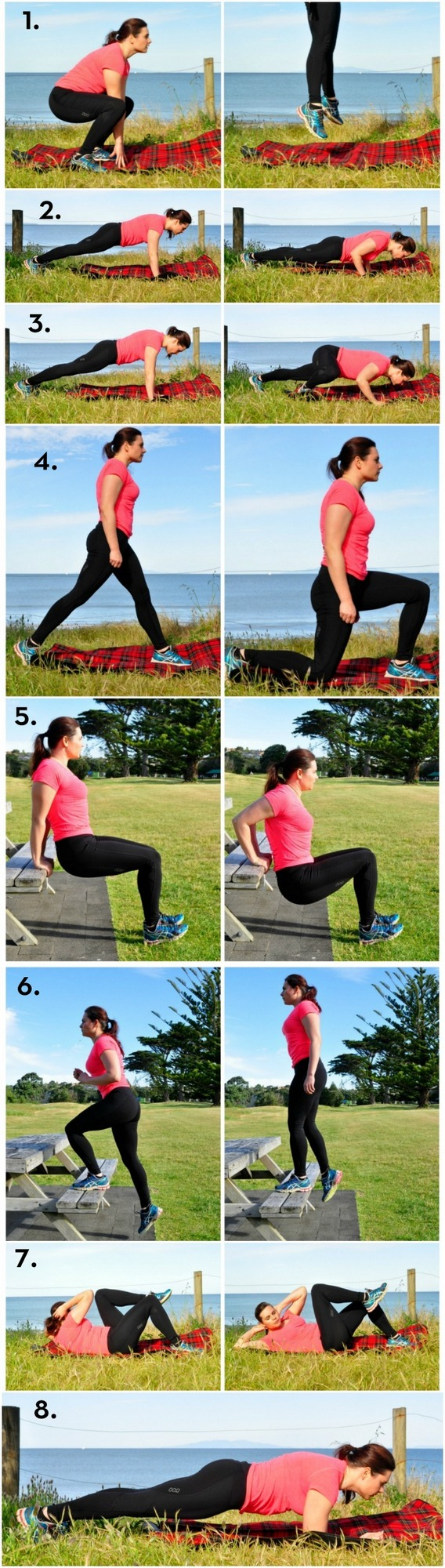 Exercise You Can Do At The Park