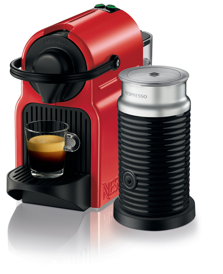 Nespresso Inissia Ruby Red