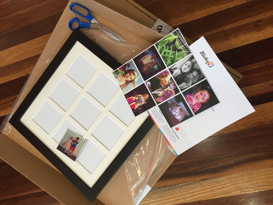 Sticky9 magnet wall frame review