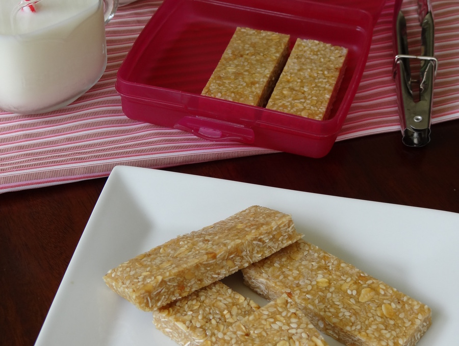 Sesame Bar Recipe