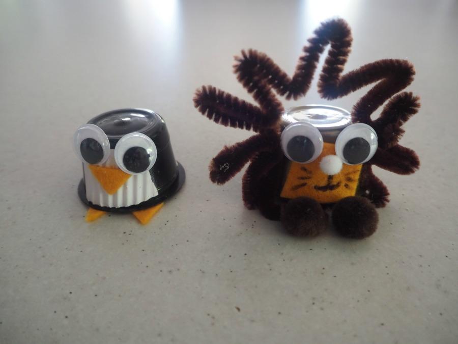 coffee pod creatures