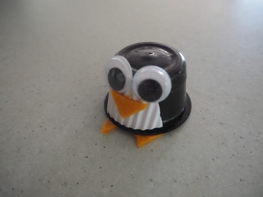 coffee pod penguin