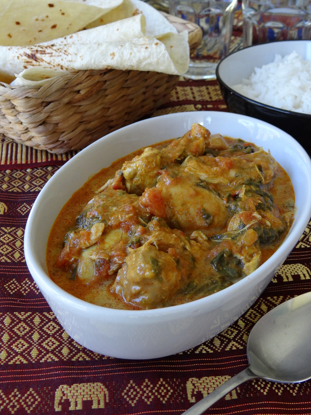 Slow Cooker Chicken Korma Recipe