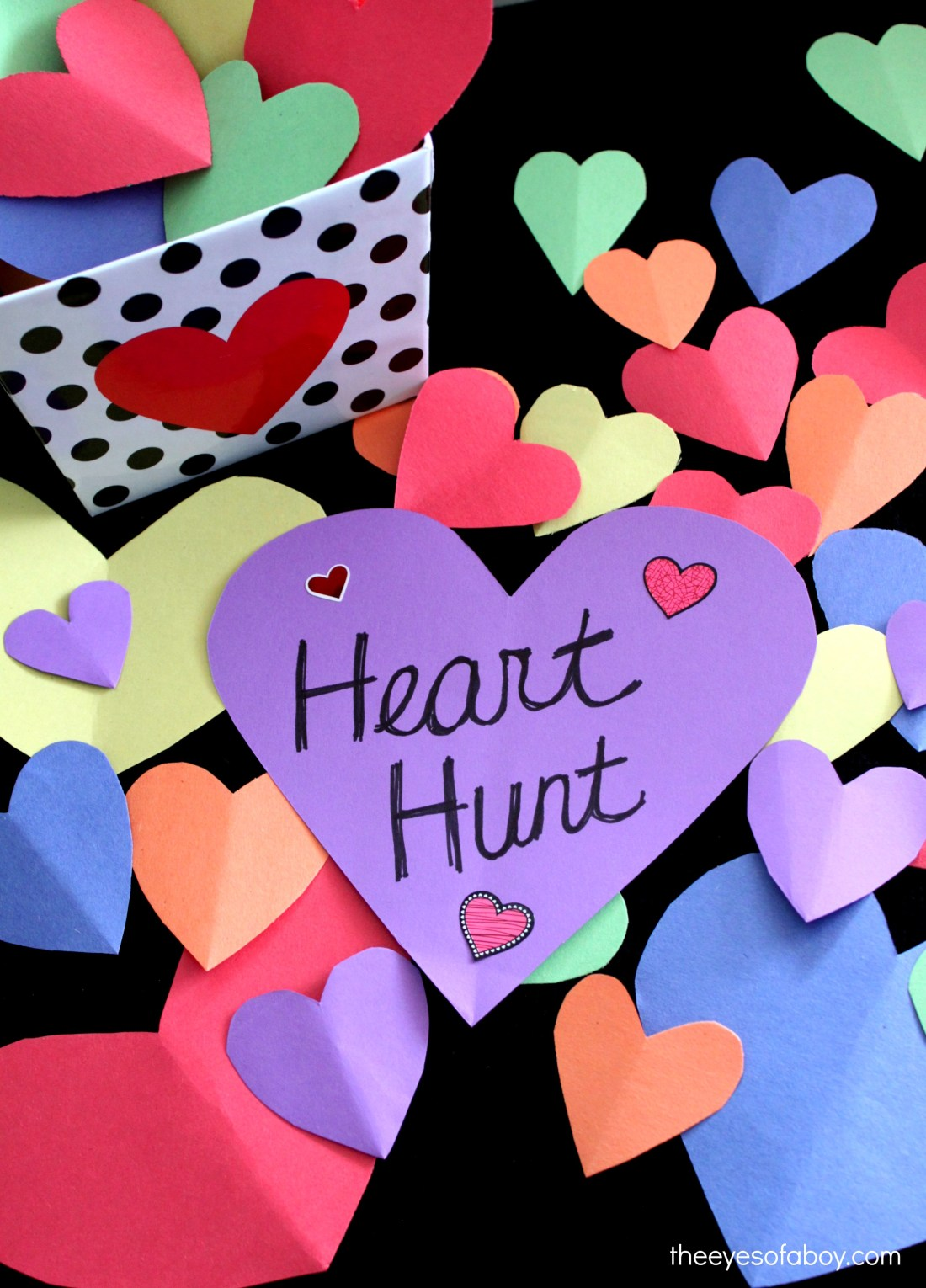Heart Scavenger Hunt