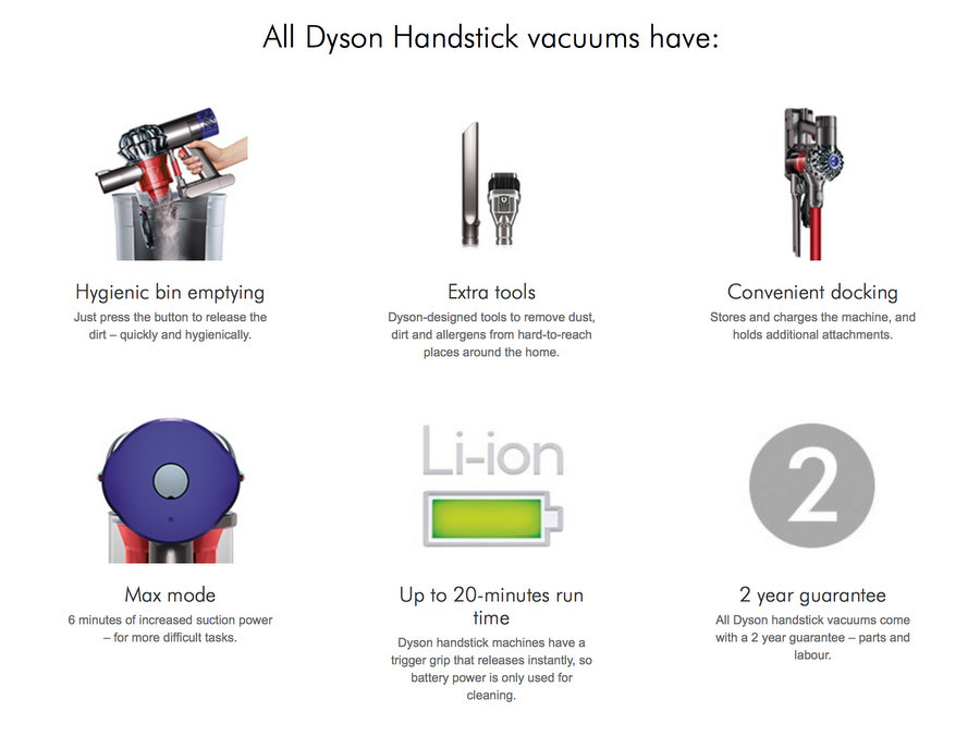 cordless Dyson V6 Absolute