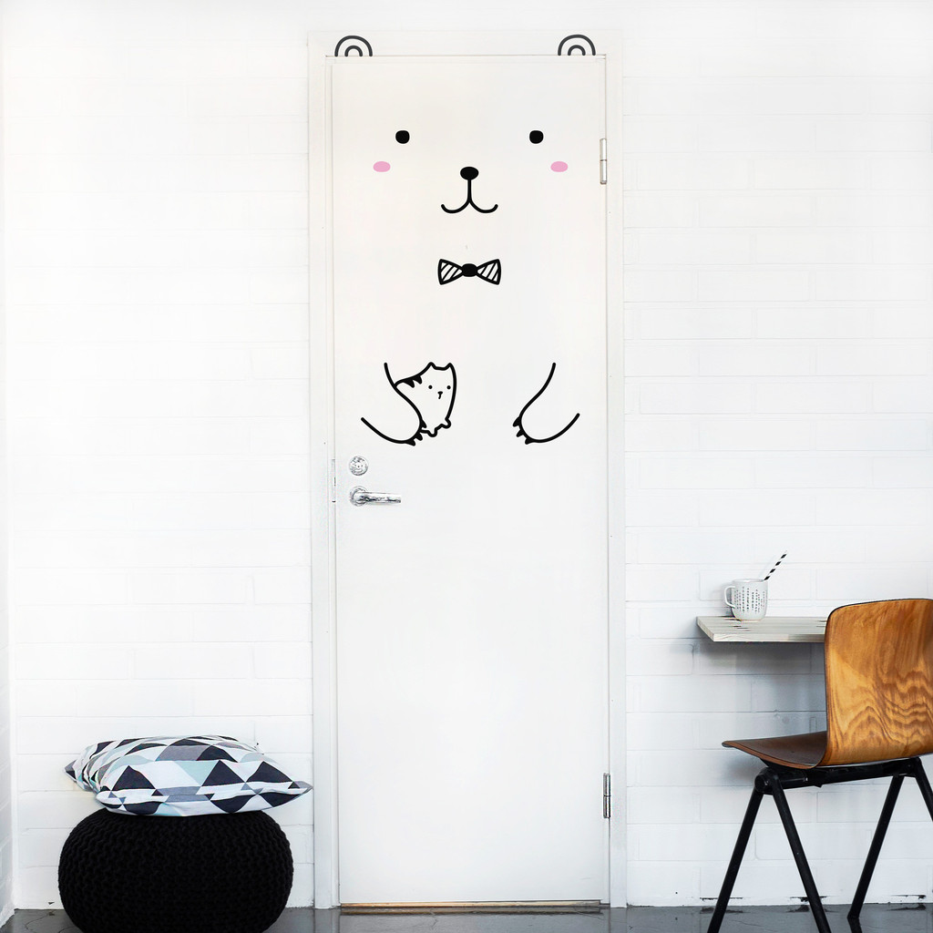 Door Decals - Bear