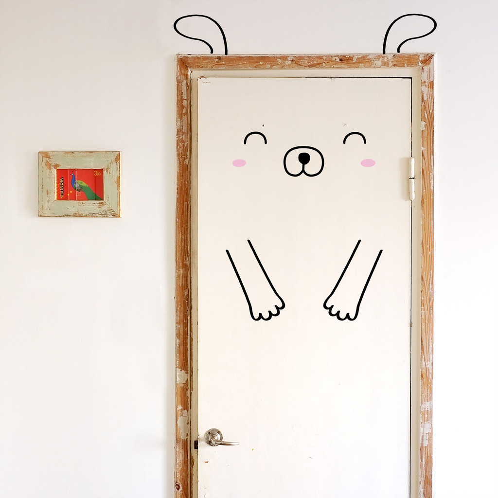 Door Decals - Dog