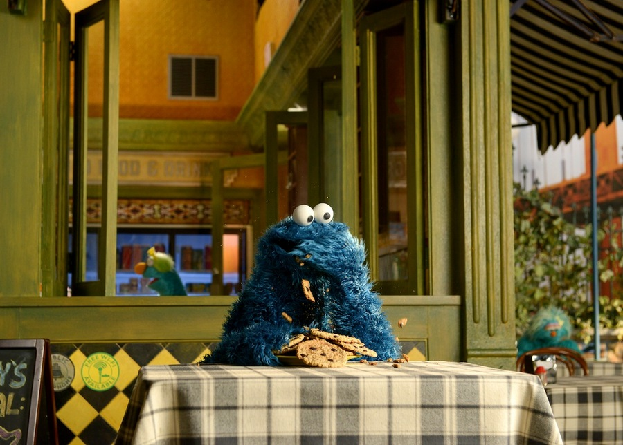 Cookie Monster Biscuits