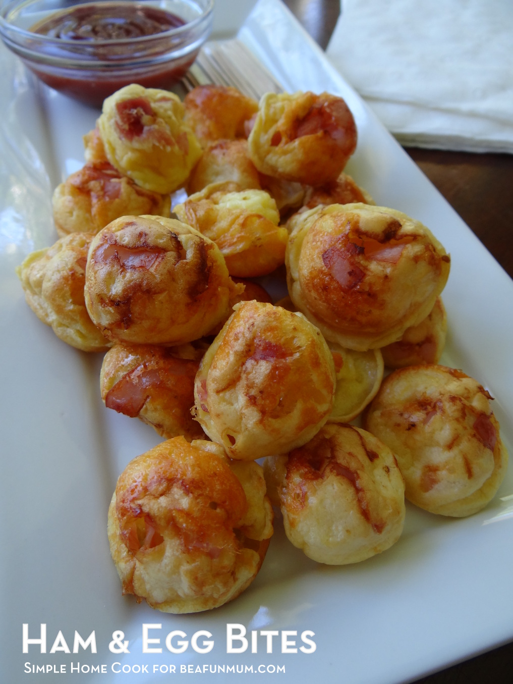 Egg and Ham Bites