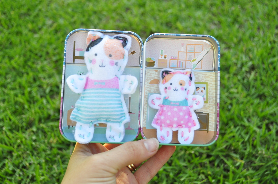Tiny Town Sew Buddies - Cat