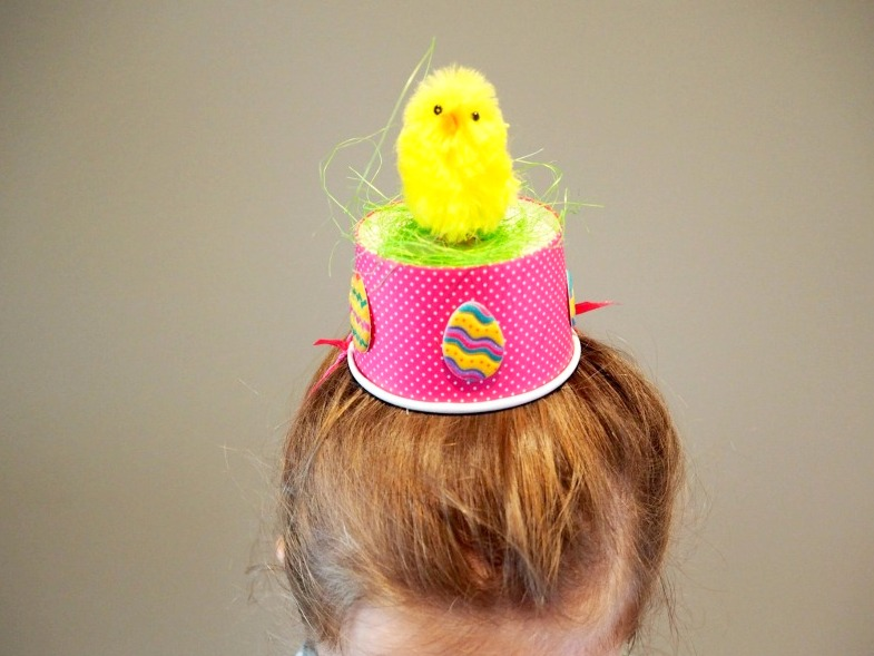 Plastic Plate Easter Bonnet Hat