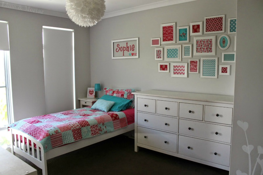 girls bedroom by lime and mortar