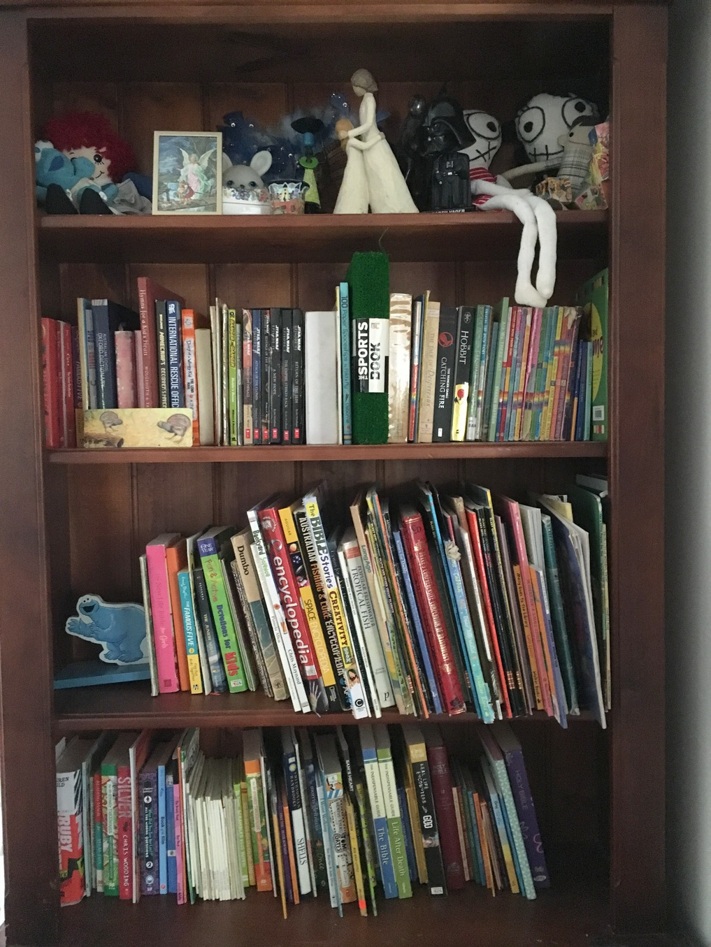 Our bookcase