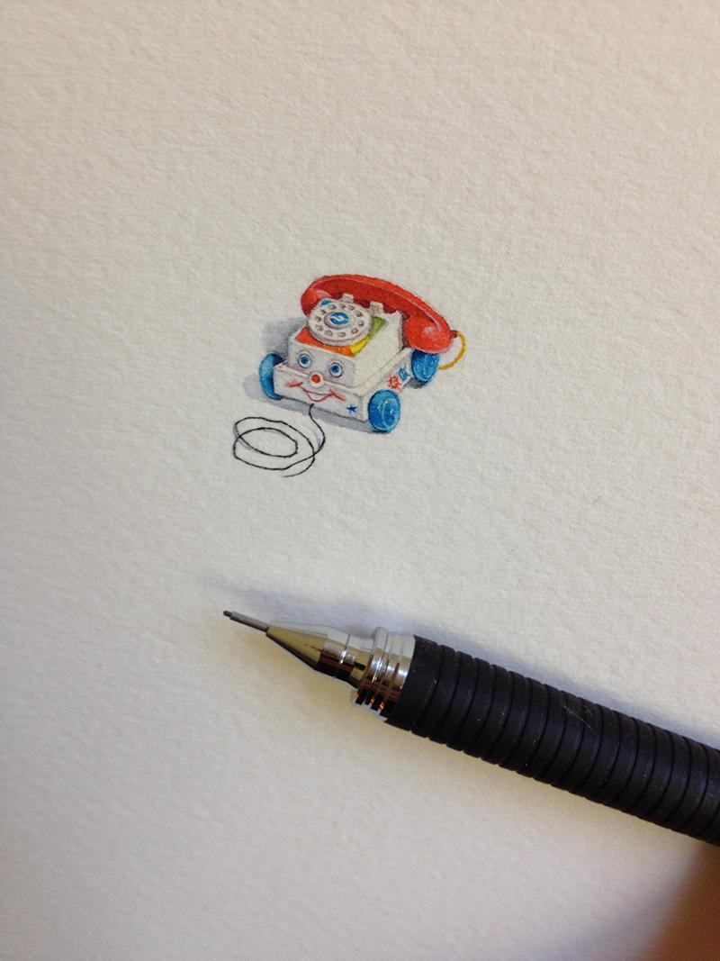 mini drawings by Brooke Rothshank