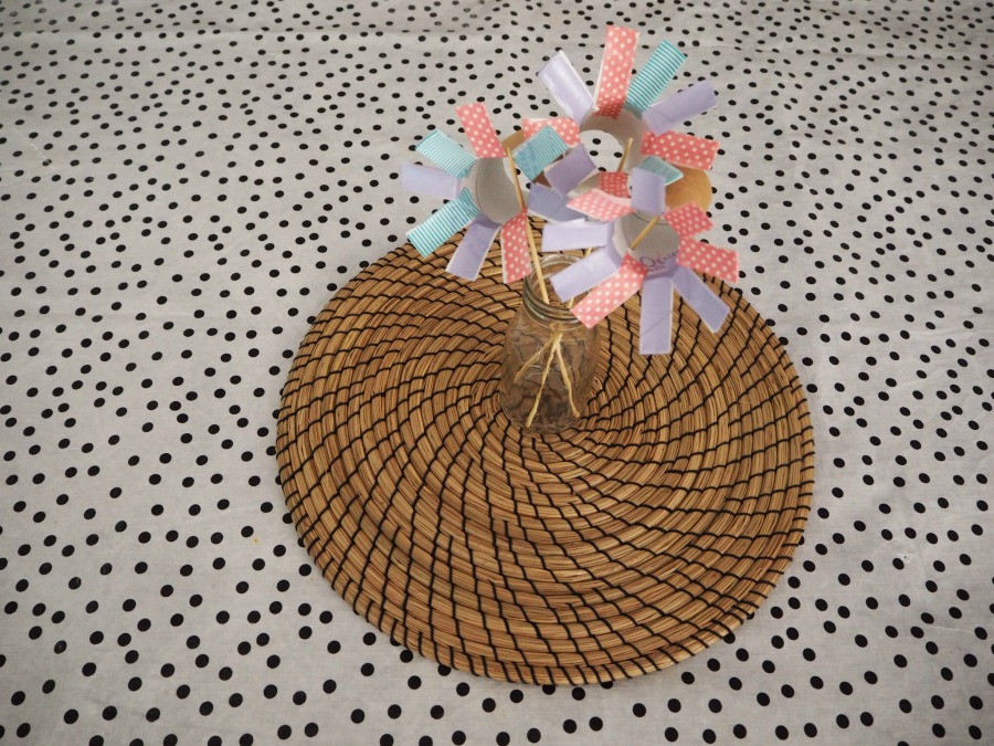 toilet roll flowers craft