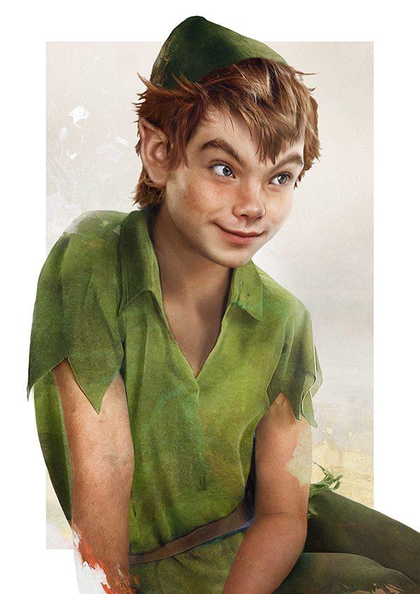Peter Pan by Jirka Väätäinen