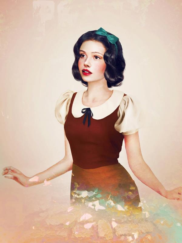 Snow White by Jirka Väätäinen