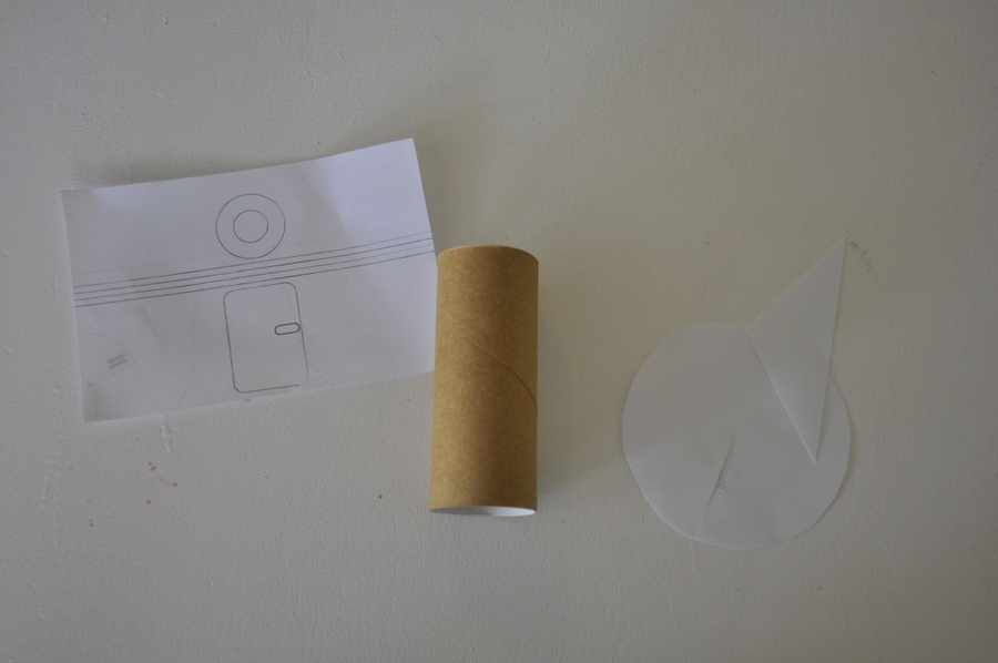 How to make a rocket out of toilet roll