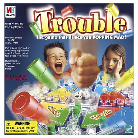 Family Board Games - Trouble