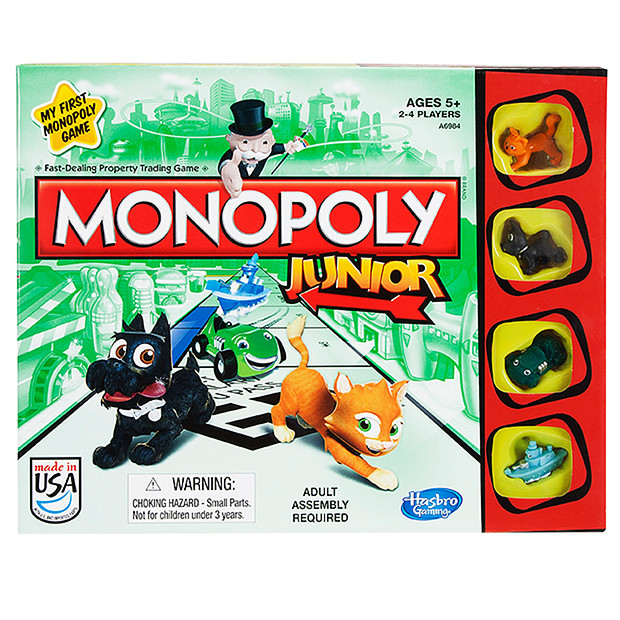 Family Board Games - Monopoly Junior