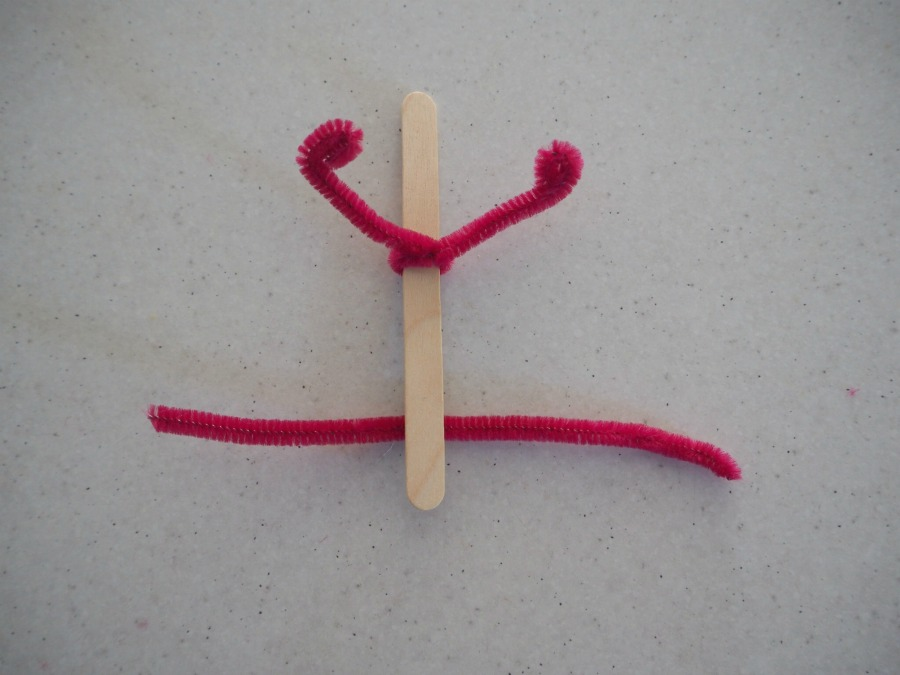 Paddle Pop Stick Person Craft
