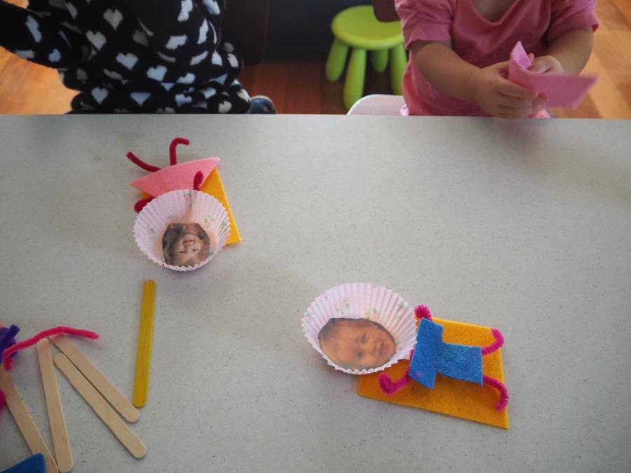 Paddle Pop Stick Person Craft