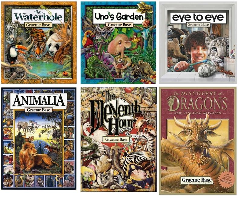 Popular Graeme Base Books
