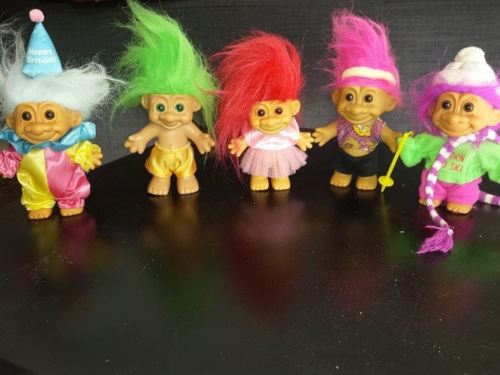 Troll Dolls via kesan92 on Ebay