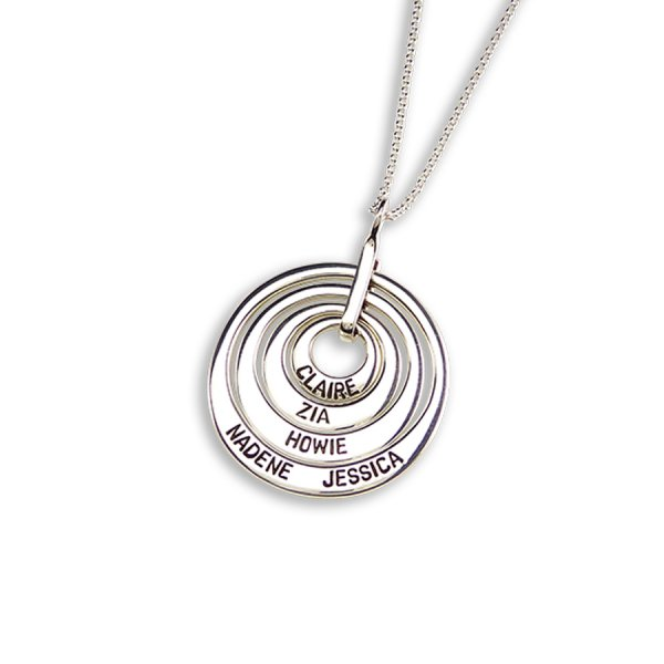 Uberkate Circles Necklace