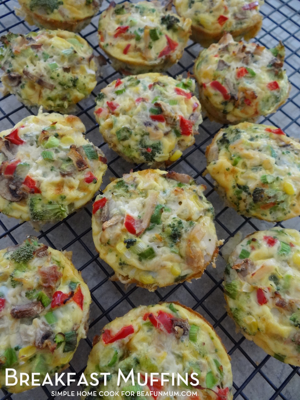 Breakfast Muffins Recipe