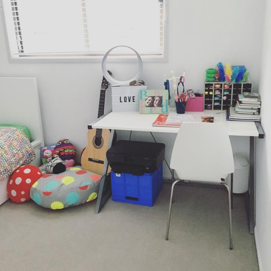 Organising a teen's room