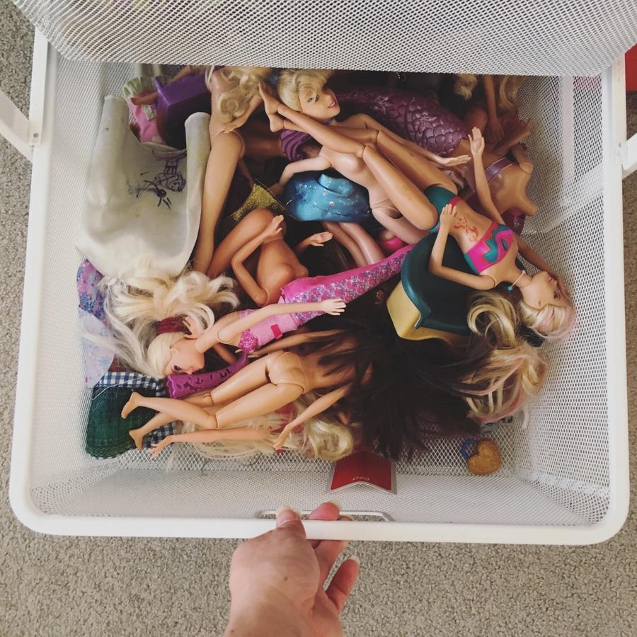 Organising Toys in bedroom