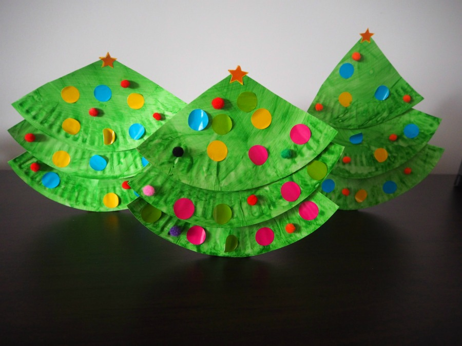 ... Paper Plate Christmas Trees & Paper Plate Christmas Tree Craft u2013 Be A Fun Mum