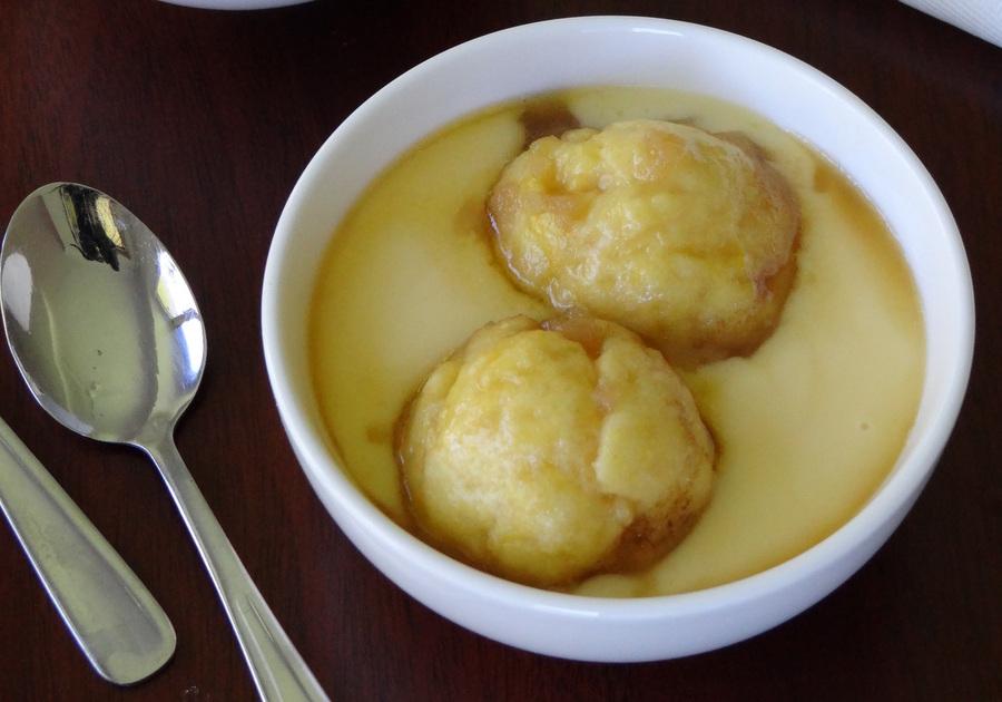 Maple Syrup Dumplings Recipe