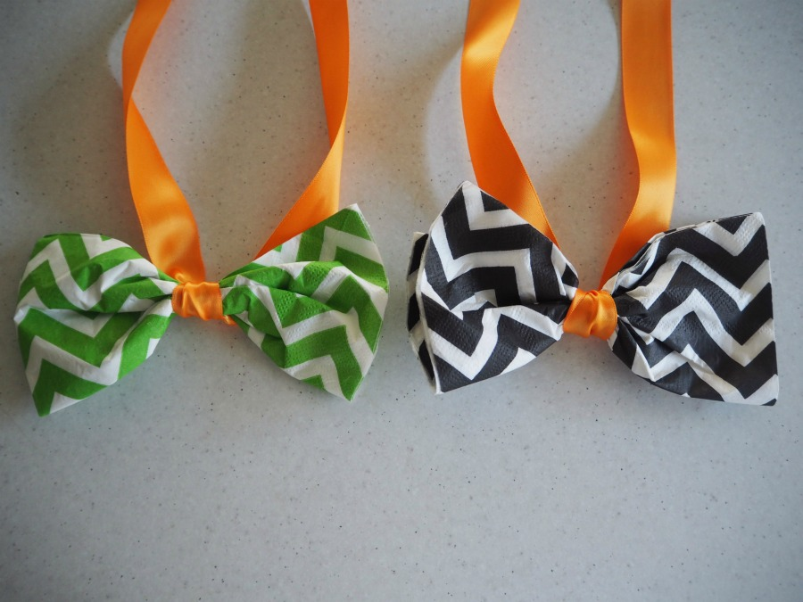 father's day napkin bow ties