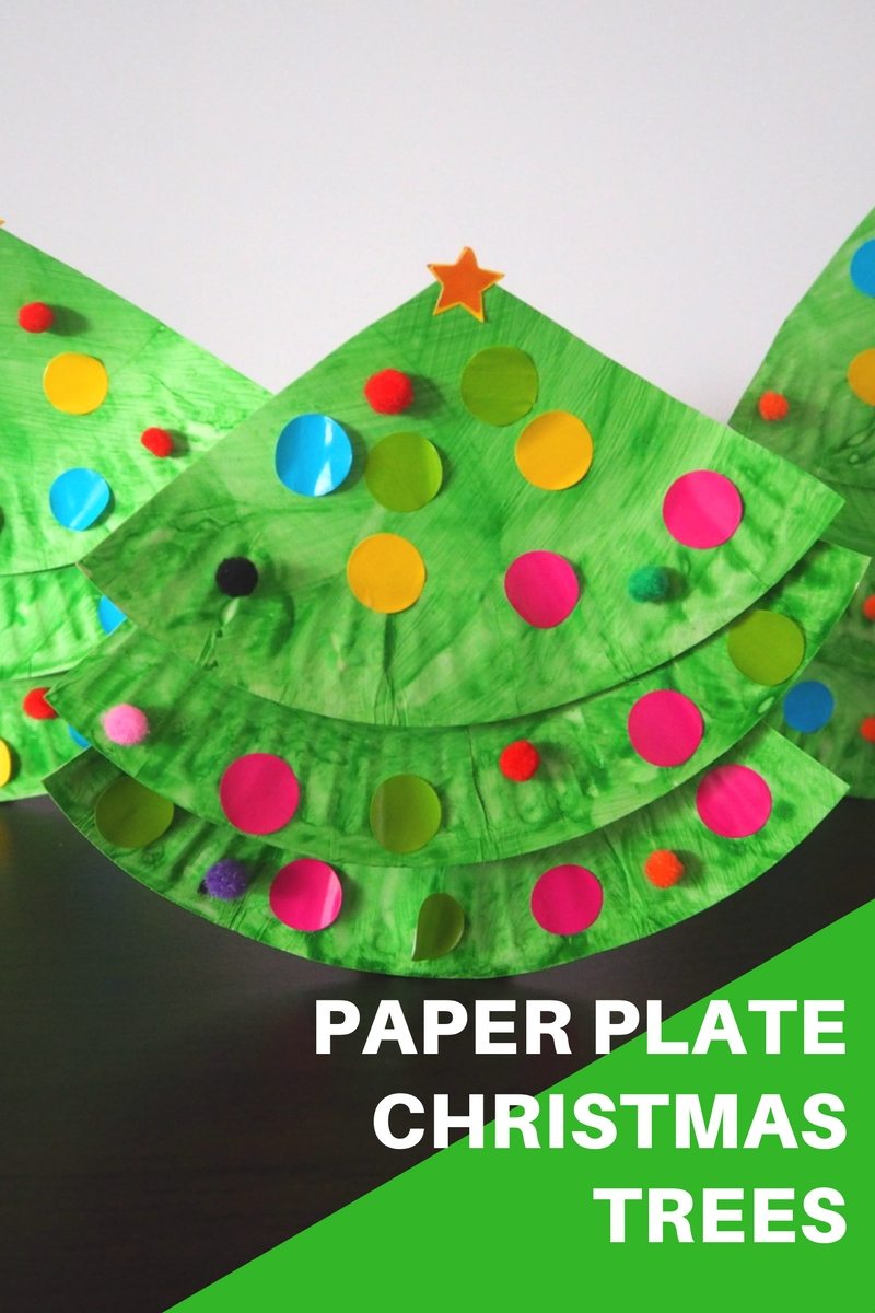 Paper Plate Christmas Tree Craft & Paper Plate Christmas Tree Craft u2013 Be A Fun Mum