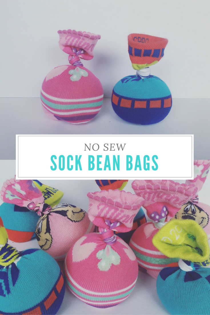 NEW SEW SOCK BEAN BAGS