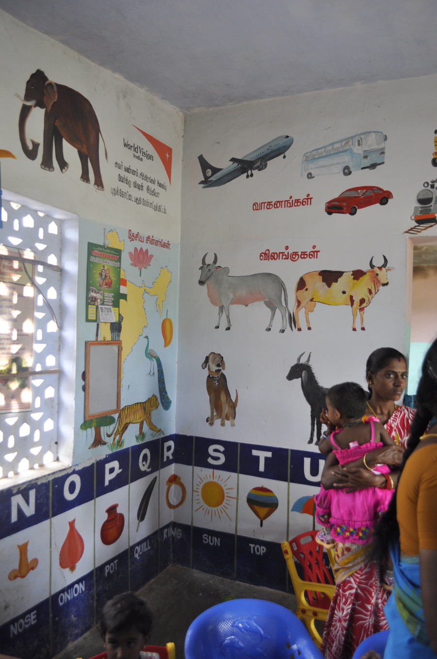 Child Care Centre in Rural India