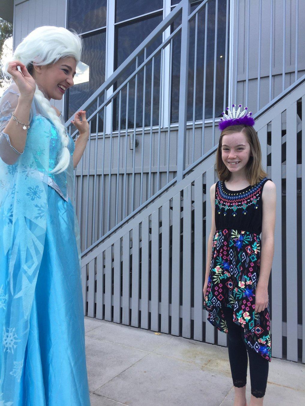 Princess Party Performers - brisbane