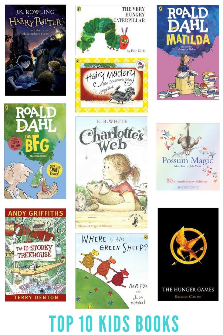 Top ten children's books