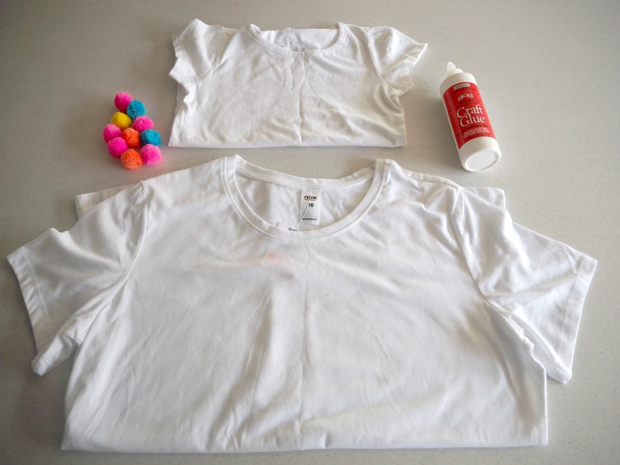 materials for pom pom tees
