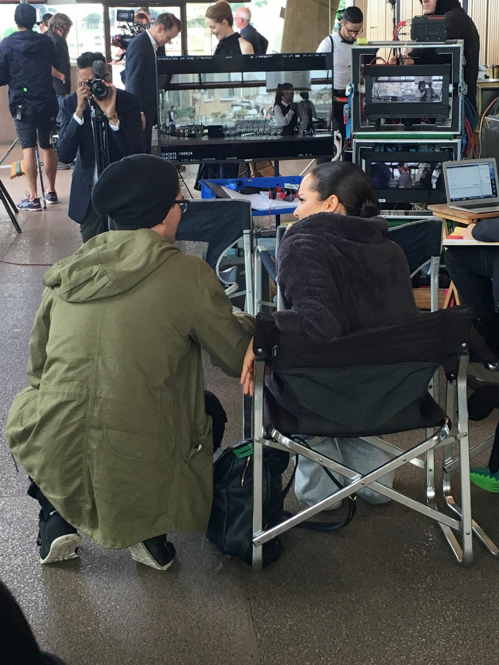 On set: Filming Dance Academy in Sydney