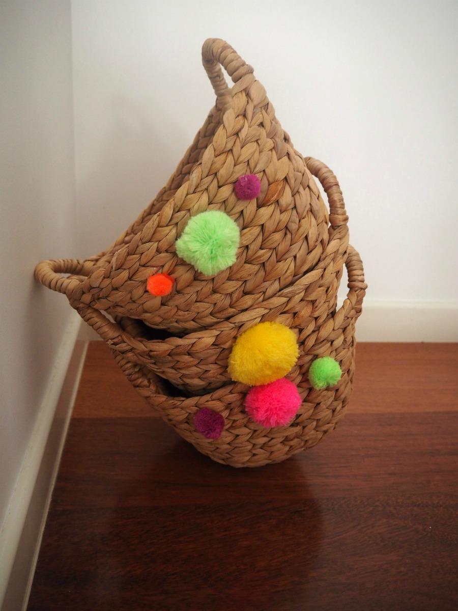 Pom Pom baskets