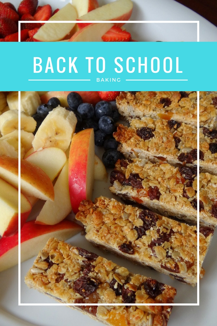 Back to school baking for 7 days