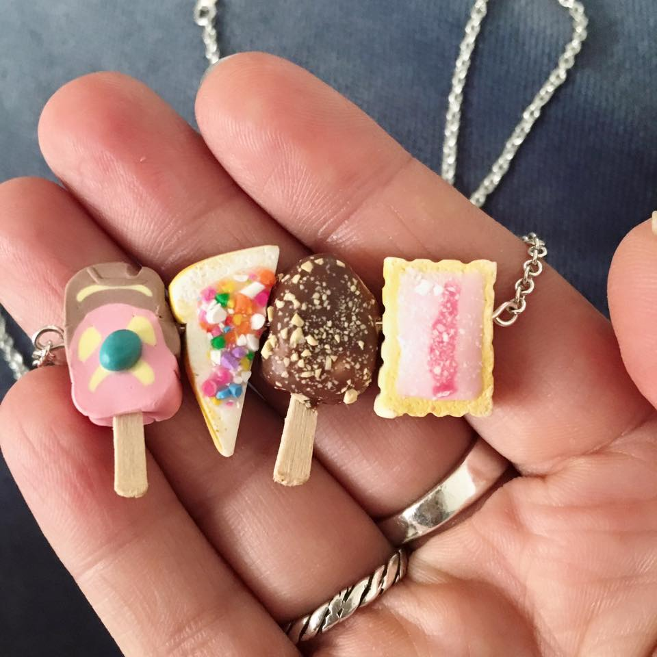 Aussie Treats Necklace - fairy bread